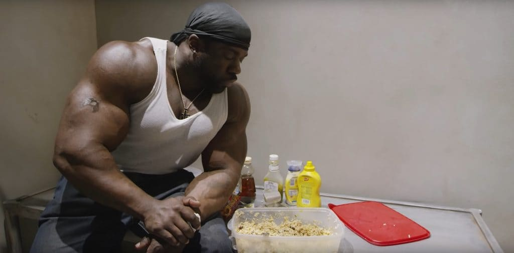 Cooking A High Calorie Meal With Kali Muscle