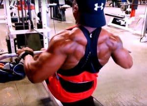 Beastmode Jones Back Workout - Natural Bodybuilder Chris Jones