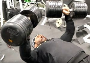 Chris Jones On Video Gotta Try New Things To Get New Things - Chest Day With Marc Lobliner
