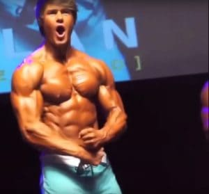 Jeff Seid Won First Place At Bodybuilding Competition