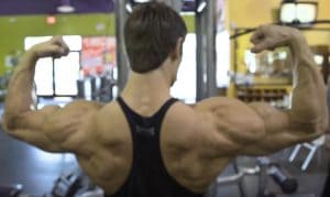 Jeff Seid's Back Muscles