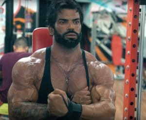 Sergi Constance Ripped And Flexing