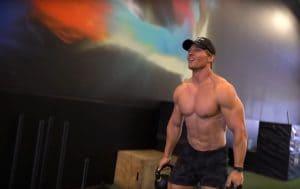Steve Cook Training Chest & Back