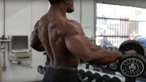 Simeon Panda's Back Workout
